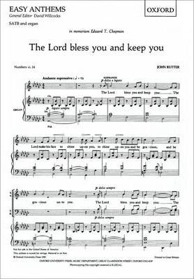 The Lord Bless You and Keep You: SATB Vocal Score