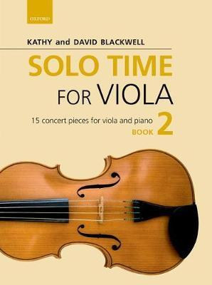 SOLO TIME FOR VIOLIN Blackwell Book 2 CD