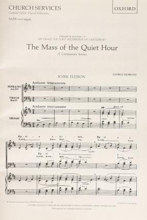 Communion Service: 'The Mass of the Quiet Hour'