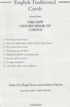 English Traditional Carols