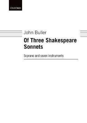 Of Three Shakespeare Sonnets