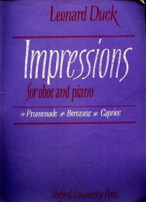Impressions for Oboe and Piano