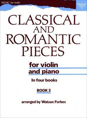Classical and Romantic Pieces for Violin Book 3