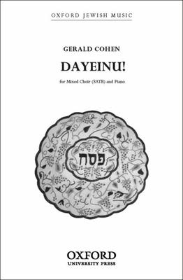 Dayeinu!: SATB Vocal Score