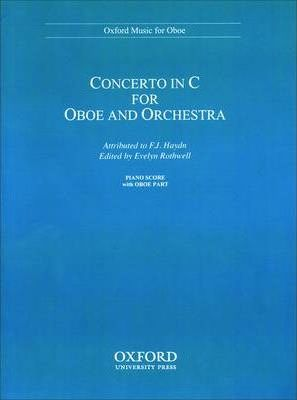 Concerto in C for oboe and orchestra
