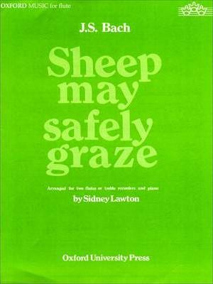 Sheep May Safely Graze: For Two Flutes