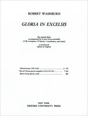Gloria in Excelsis: Brass Parts
