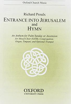Entrance into Jerusalem and Hymn