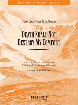 Death shall not destroy my comfort