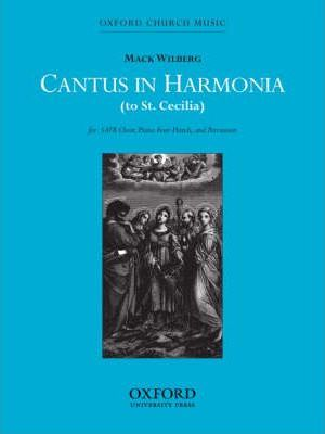 Cantus in harmonia (to St Cecilia)