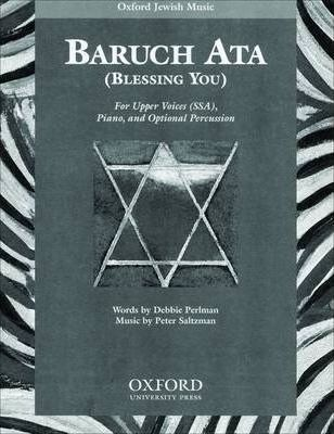 Baruch Ata (Blessing You): Percussion Part
