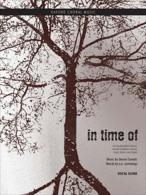 In Time of: Vocal Score