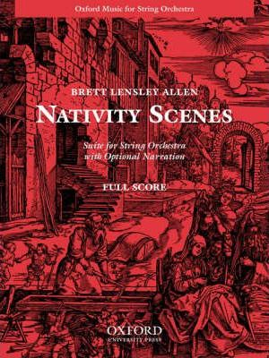 Nativity Scenes: Suite for String Orchestra: Full Score
