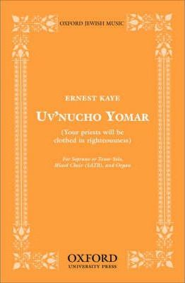 Uv'Nucho Yomar (Your Priests Will be Clothed in Righteousness)