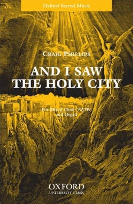 And I Saw the Holy City