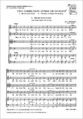 Two Communion Hymns or Introits