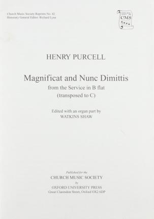 Magnificat and Nunc Dimittis from B flat service