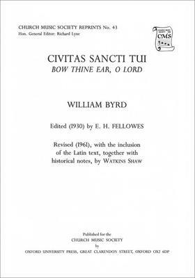 Civitas sancti tui (Bow thine ear, O Lord)