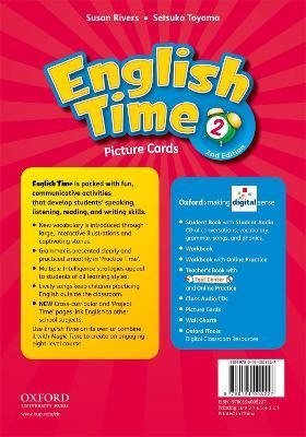 English Time: 2: Picture Cards