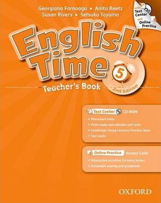 English Time: 5: Teacher's Book with Test Center and Online Practice
