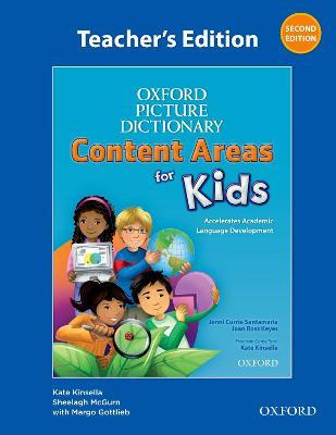 Oxford Picture Dictionary Content Areas for Kids: Teacher's Edition
