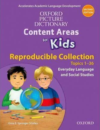 Oxford Picture Dictionary for Kids Reproducible Collection Everyday Language