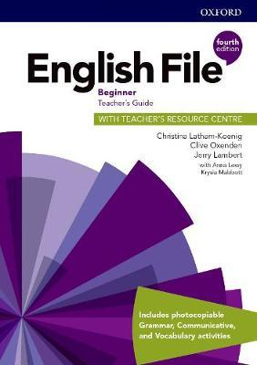 English File Beginner Teacher's Guide with Teacher's Resource Centre