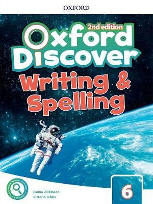Oxford Discover Level 6 Writing & Spelling Book