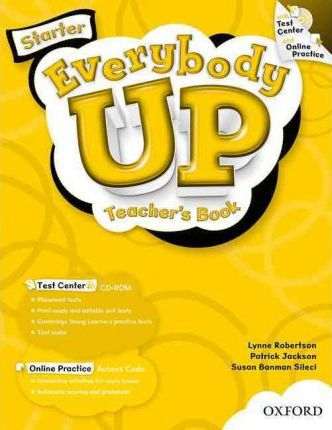 Everybody Up: Starter: Teacher's Book with Test Center CD-ROM
