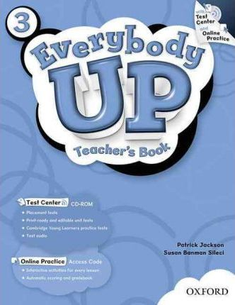 Everybody Up: 3: Teacher's Book with Test Center CD-ROM