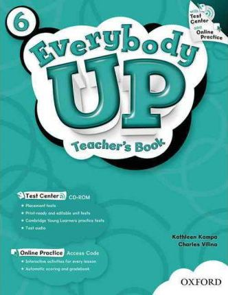 Everybody Up: 6: Teacher's Book with Test Center CD-ROM