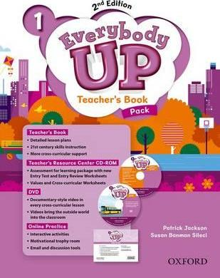 Everybody Up: Level 1: Teacher's Book Pack with DVD, Online Practice and Teacher's Resource Center CD-ROM