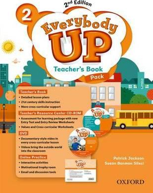 Everybody Up: Level 2: Teacher's Book Pack with DVD, Online Practice and Teacher's Resource Center CD-ROM