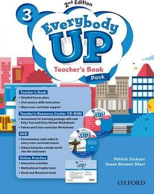 Everybody Up: Level 3: Teacher's Book Pack with DVD, Online Practice and Teacher's Resource Center CD-ROM