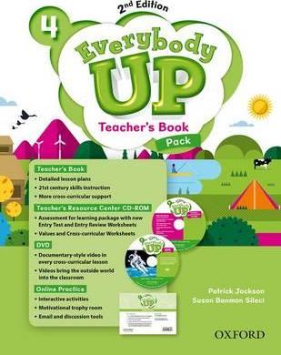 Everybody Up: Level 4: Teacher's Book Pack with DVD, Online Practice and Teacher's Resource Center CD-ROM