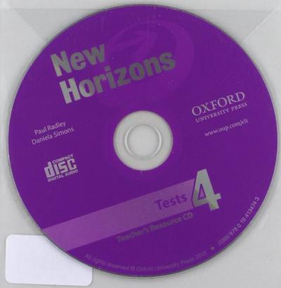 New Horizons 4: Teachers Tests CD