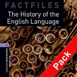 Oxford Bookworms Library Factfiles: Level 4:: The History of the English Language audio CD pack