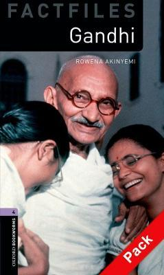 Oxford Bookworms Library Factfiles: Level 4:: Gandhi audio CD pack
