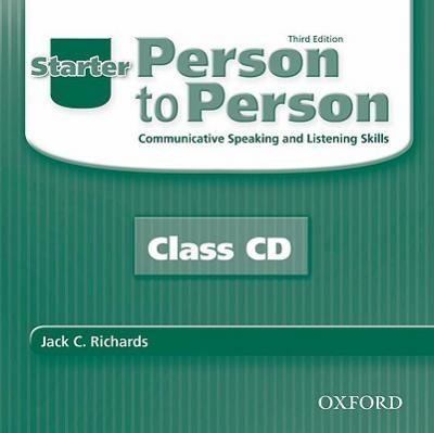 Person to Person, Third Edition Starter: Class Audio CDs (2)