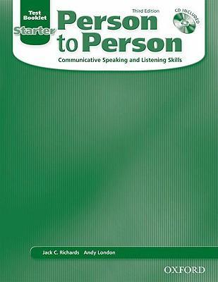 Person to Person, Third Edition Starter: Test Booklet (with Audio CD)