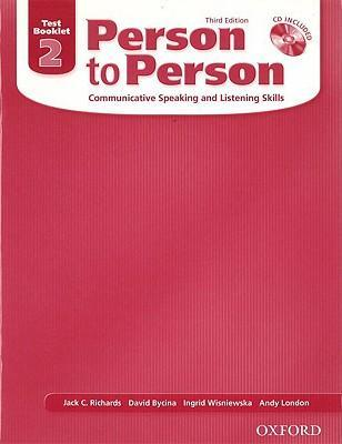 Person to Person, Third Edition Level 2: Test Booklet (with Audio CD)