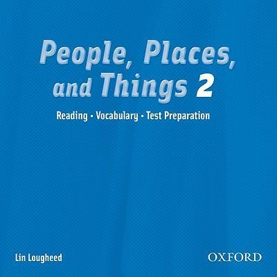People, Places, and Things 2: Audio CD