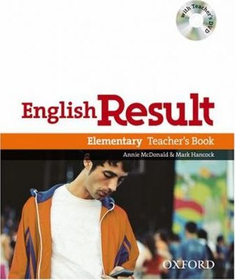 English Result Elementary: Teacher's Book with DVD Pack