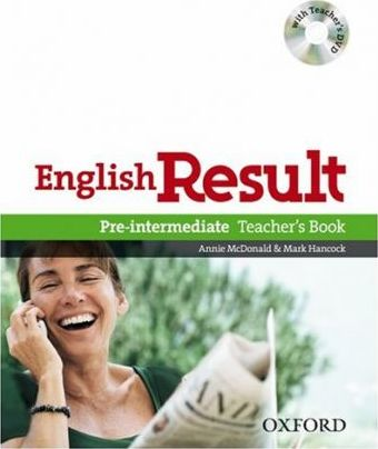 English Result Pre-intermediate: Teacher's Book with DVD Pack