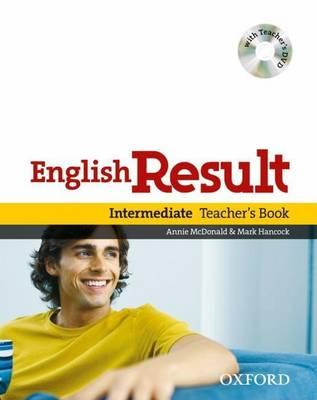 English Result Intermediate: Teacher's Book with DVD Pack