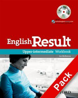 English Result: Upper-Intermediate: Workbook with Answer Booklet and MultiROM Pack