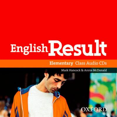 English Result Elementary: Class Audio CDs (2)