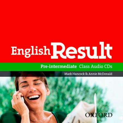 English Result Pre-Intermediate: Class Audio CDs (2)