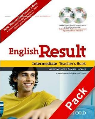 English Result: Intermediate: Teacher's Resource Pack with DVD and Photocopiable Materials Book