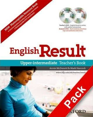 English Result: Upper-Intermediate: Teacher's Resource Pack with DVD and Photocopiable Materials Book